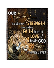 """Our Family - Lion  Quilt 40""""x50"""" - Baby thumbnail"""
