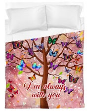 Butterfly Tree - I'm Always with You Duvet Cover - Twin XL thumbnail