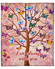 """Butterfly Tree - I'm Always with You Fleece Blanket - 50"""" x 60"""" front"""
