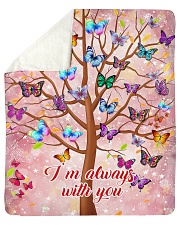 """Butterfly Tree - I'm Always with You Sherpa Fleece Blanket - 50"""" x 60"""" thumbnail"""