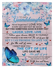 To My Granddaughter From Grandma -Butterfly - 03 Comforter - Twin thumbnail