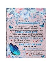"""To My Granddaughter From Grandma -Butterfly - 03 Quilt 40""""x50"""" - Baby thumbnail"""