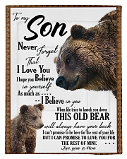 To My Son From Mom - Bear 03 Comforter - Twin thumbnail
