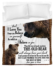 To My Son From Mom - Bear 03 Duvet Cover - Twin thumbnail
