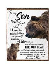 """To My Son From Mom - Bear 03 Quilt 40""""x50"""" - Baby thumbnail"""