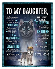To My Daughter From Mom - Wolf 1 Comforter - Twin thumbnail