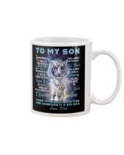 To My Son from Dad- Tiger Mug thumbnail