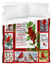 Because Someone We love Is In Heaven - Cardinals 5 Duvet Cover - Twin thumbnail