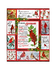 """Because Someone We love Is In Heaven - Cardinals 5 Quilt 40""""x50"""" - Baby thumbnail"""