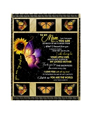 """To My Mom from Daughter - Butterfly- 02 Quilt 40""""x50"""" - Baby thumbnail"""