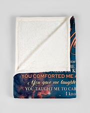 "To My Mom from Daughter Wolf 3 Small Fleece Blanket - 30"" x 40"" aos-coral-fleece-blanket-30x40-lifestyle-front-17"