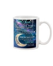 To My Son From Mom - Love you to the Moon Mug tile
