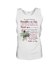 To My Dear Daughter -in-law from Mother-in-law Unisex Tank thumbnail