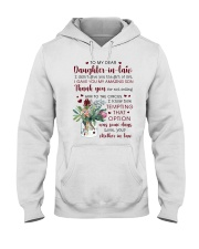To My Dear Daughter -in-law from Mother-in-law Hooded Sweatshirt thumbnail
