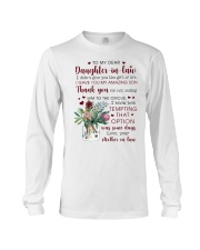 To My Dear Daughter -in-law from Mother-in-law Long Sleeve Tee thumbnail