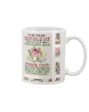 To My Daughter-in-law From Mother-in-law Mug thumbnail