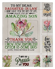 To My Daughter-in-law From Mother-in-law Comforter - Twin thumbnail