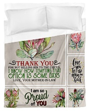 To My Daughter-in-law From Mother-in-law Duvet Cover - Twin thumbnail