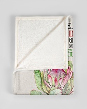 """To My Daughter-in-law From Mother-in-law Small Fleece Blanket - 30"""" x 40"""" aos-coral-fleece-blanket-30x40-lifestyle-front-17"""