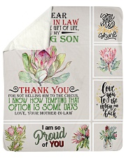 """To My Daughter-in-law From Mother-in-law Sherpa Fleece Blanket - 50"""" x 60"""" thumbnail"""