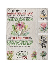 """To My Daughter-in-law From Mother-in-law Quilt 40""""x50"""" - Baby thumbnail"""