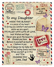 To My Daughter From Dad  - Envelope - 03 Comforter - Twin thumbnail