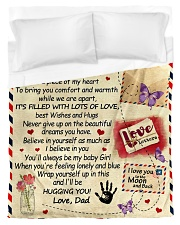 To My Daughter From Dad  - Envelope - 03 Duvet Cover - Twin thumbnail