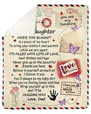 """To My Daughter From Dad  - Envelope - 03 Sherpa Fleece Blanket - 50"""" x 60"""" thumbnail"""