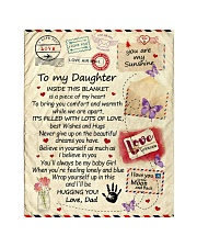 """To My Daughter From Dad  - Envelope - 03 Quilt 40""""x50"""" - Baby thumbnail"""