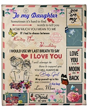 "To My Daughter From Mom - Envelope -05 Fleece Blanket - 50"" x 60"" front"