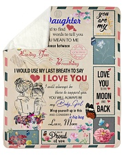 "To My Daughter From Mom - Envelope -05 Sherpa Fleece Blanket - 50"" x 60"" thumbnail"