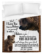 To My Grandson from Grandpa -03 Duvet Cover - Twin thumbnail
