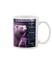 To My Daughter from Dad -  Bear Mug thumbnail