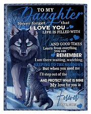 To My Daughter From Mom - Wolf-02 Comforter - Twin thumbnail