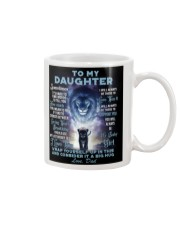 To My Daughter From DAD - Lion- 01 Mug thumbnail