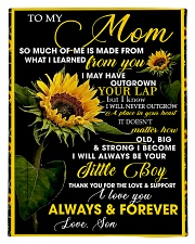 To My Mom from Son - Sunflower 01 Comforter - Twin thumbnail