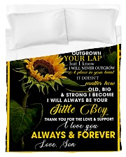 To My Mom from Son - Sunflower 01 Duvet Cover - Twin thumbnail