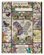 January Girl -Butterfly Comforter - Twin thumbnail