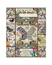 """January Girl -Butterfly Quilt 40""""x50"""" - Baby thumbnail"""