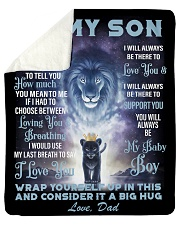 """To My Son From Dad Sherpa Fleece Blanket - 50"""" x 60"""" thumbnail"""
