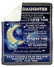 """To My Daughter From Mom  - Butterflt -07 Sherpa Fleece Blanket - 50"""" x 60"""" thumbnail"""