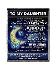 """To My Daughter From Mom  - Butterflt -07 Quilt 40""""x50"""" - Baby thumbnail"""