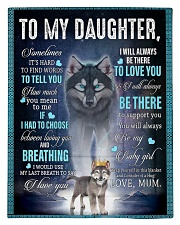 To My Daughter from Mum - AU-CA - EN Comforter - Twin thumbnail