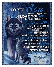 To My Son From DAD -wolf- 02 Comforter - Twin thumbnail