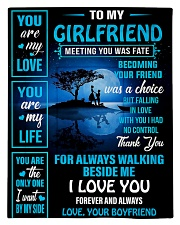 To My Girlfriend - You Are My Life 02 Comforter - Twin thumbnail