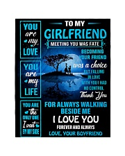 """To My Girlfriend - You Are My Life 02 Quilt 40""""x50"""" - Baby thumbnail"""