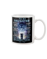 To My Daughter From DAD - Lion- 01-01 Mug thumbnail