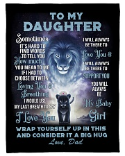 To My Daughter From DAD - Lion- 01-01 Fleece Blanket tile