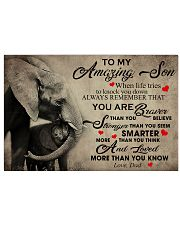 To My Son From DAD - Elephant- 05 17x11 Poster thumbnail
