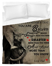 To My Son From DAD - Elephant- 05 Duvet Cover - Twin thumbnail